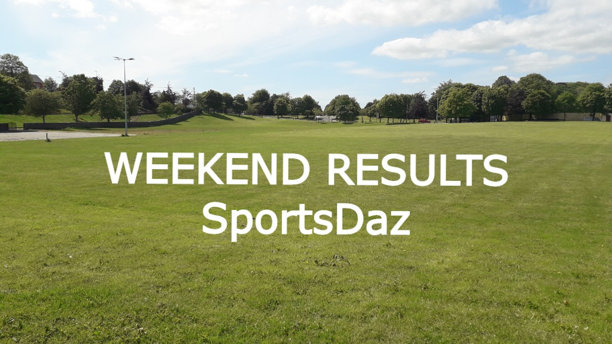 Weekend Results (week ending 25th October 2020)