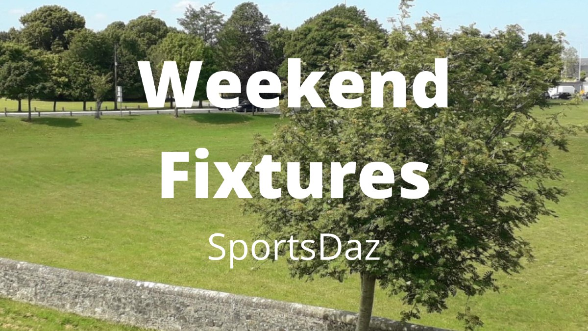 Weekend Fixtures (24th-25th October 2020)