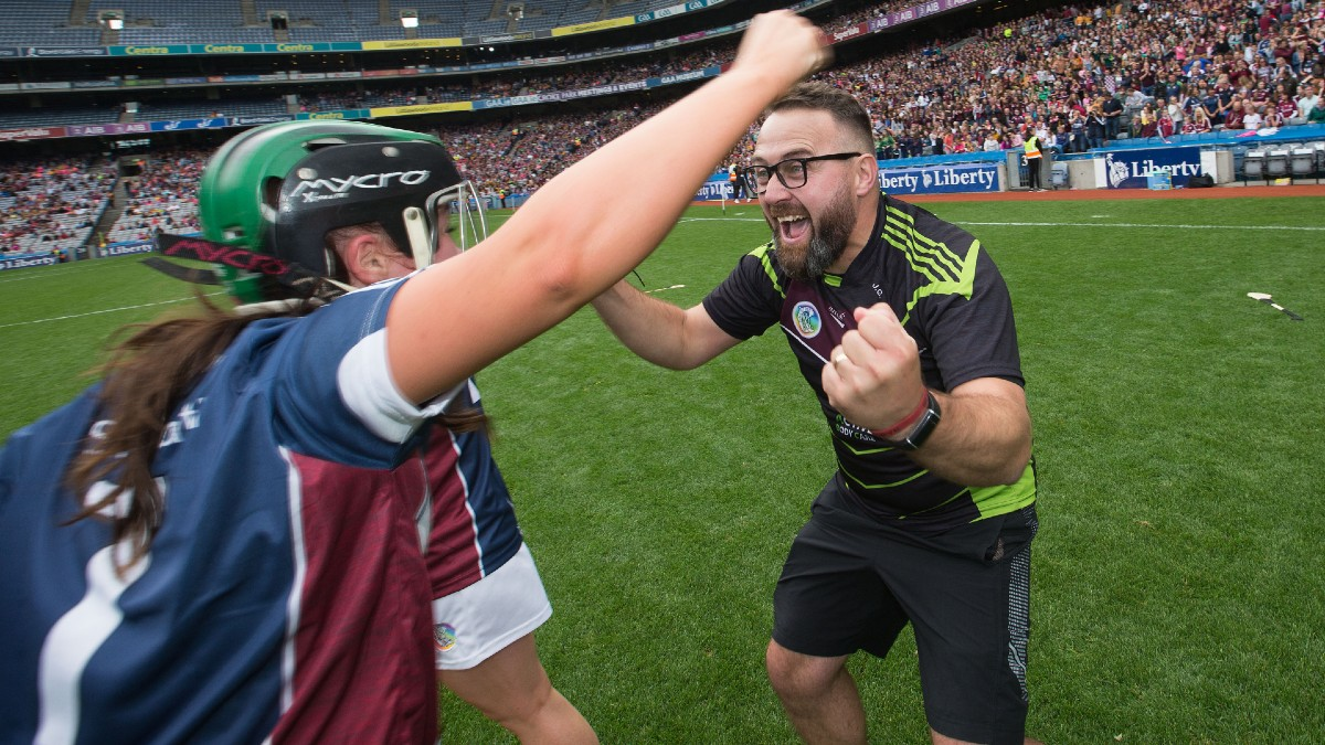 "CAMOGIE: ""They gave us a diagnosis at the time that she wasn't to live past seven. She's turning 12 at the end of next month"" – Westmeath Manager Johnny Greville"