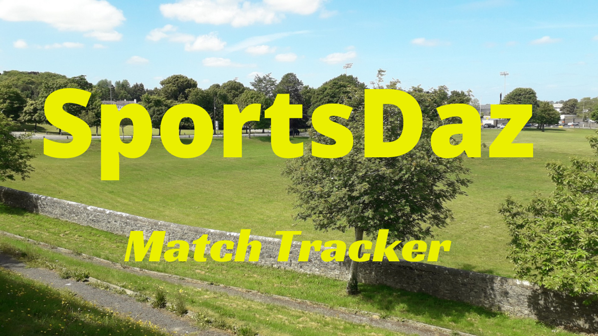 SportsDaz – Match Tracker: Saturday, 24th October 2020
