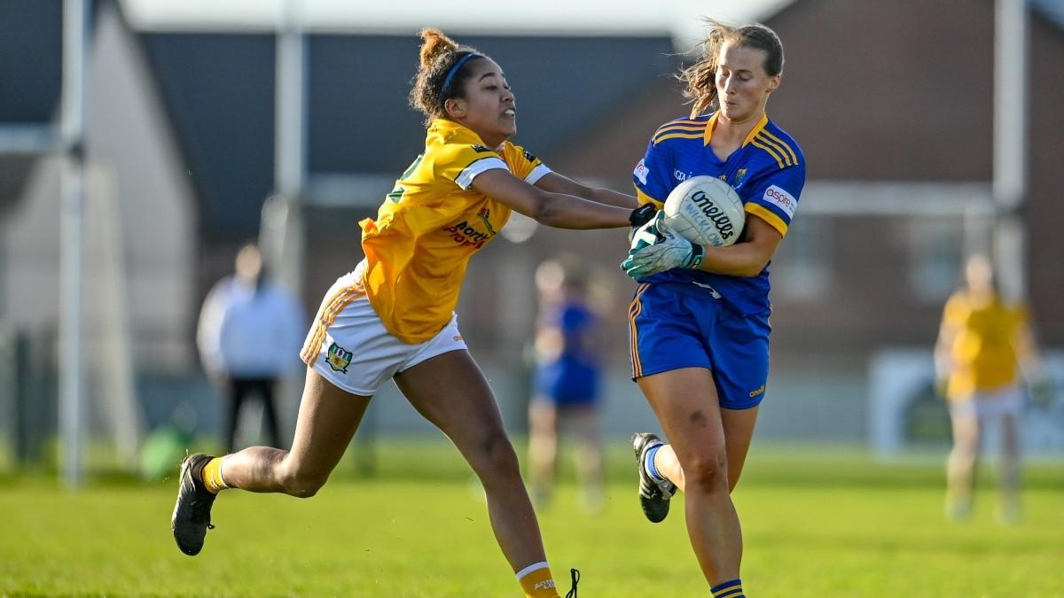 LADIES FOOTBALL: Wicklow 7-11 Antrim 3-10 – All-Ireland Junior Semi-Final