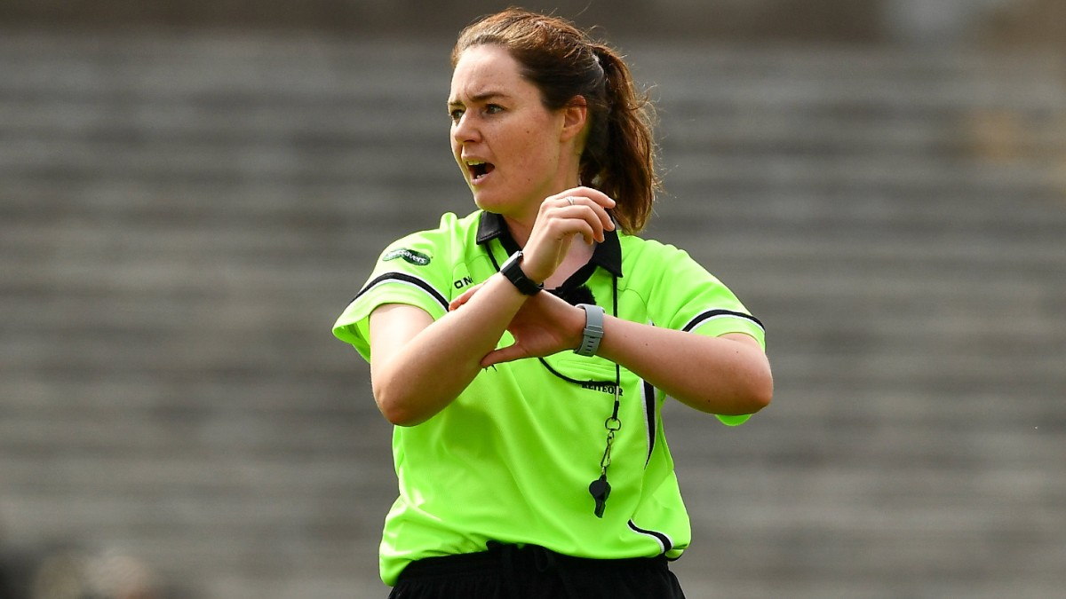 LADIES FOOTBALL: Donegal's Siobhán Coyle to referee 2020 TG4 All-Ireland Junior Championship Final