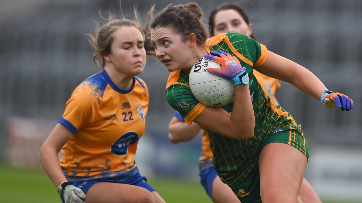 LADIES FOOTBALL: Meath 4-13 Clare 0-4 – All-Ireland Intermediate Semi-Final