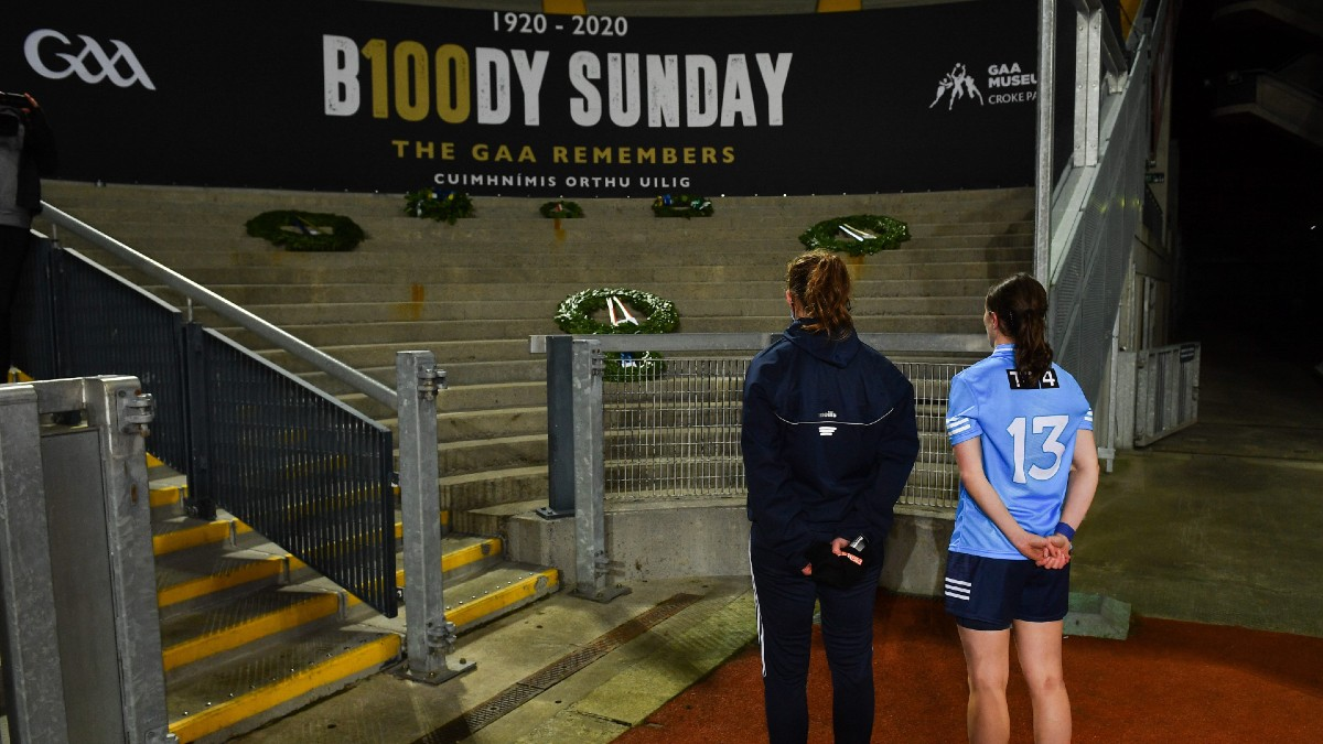 FOOTBALL: 'It is important to remember the time that we've had and how significant Croke Park is for so many people in Ireland.' -Dublin's Muireann Ní Scanaill