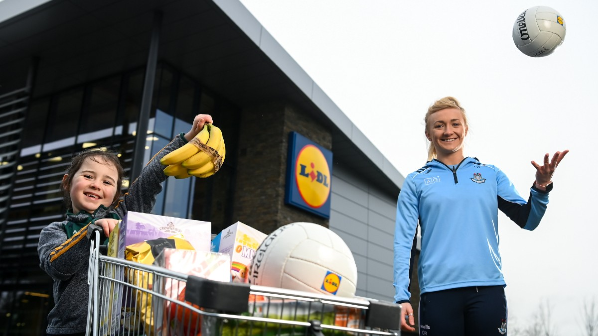 FOOTBALL: Lidl Ireland Gives Every Ladies Gaelic Football Club Across the Country the Opportunity to Raise Up To €20,000 Through Club Fundraising Initiative
