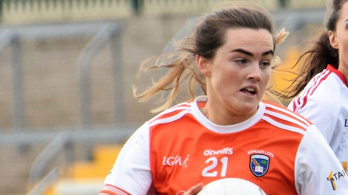 FOOTBALL: Player of the Year Aimee Mackin on hand to announce Free access to AIG 'Health Plus' Portal for all LGFA players and members
