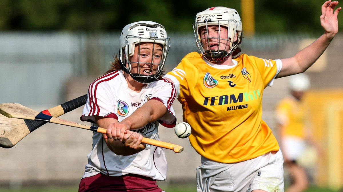 """CAMOGIE: """"Because in our parish, there's not a lot else to do. It's kind of play hurling and camogie, and go to mass"""" – Lucia McNaughton"""