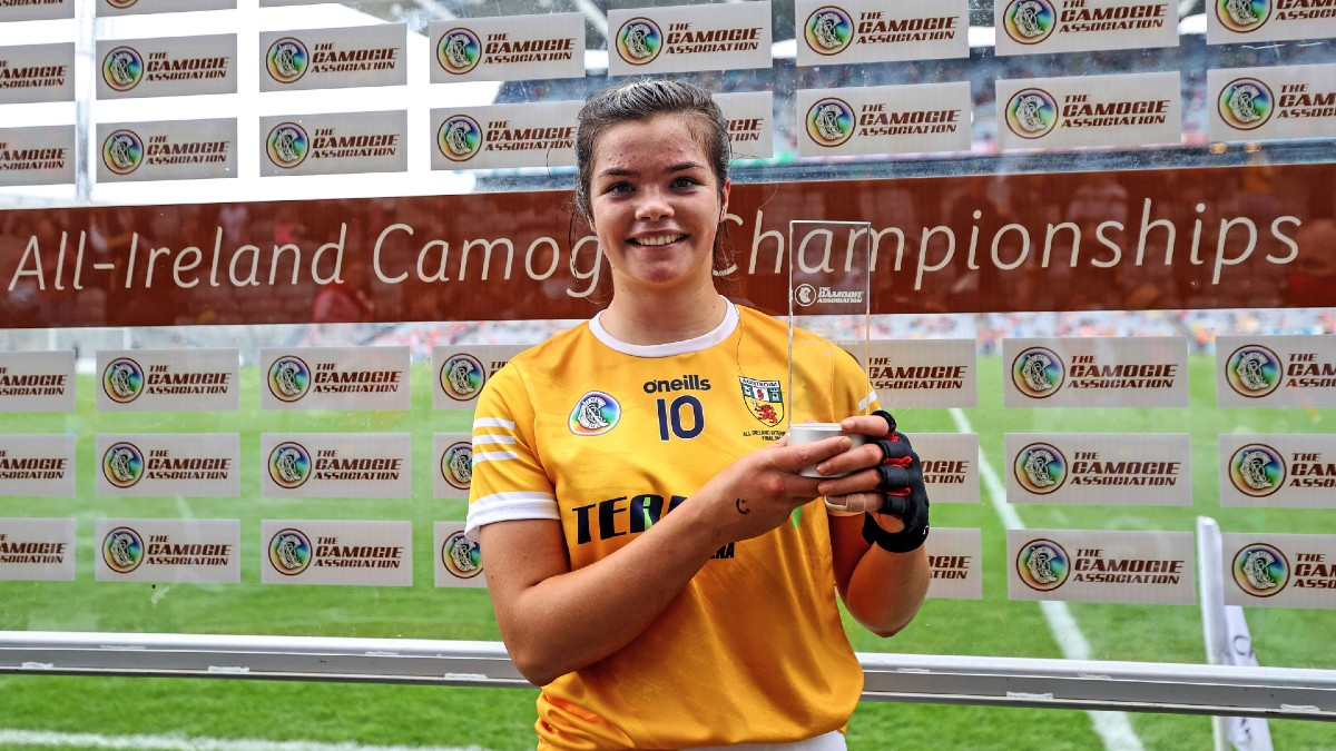 CAMOGIE: Kelly cuts through Cats as Antrim join camogie's elite